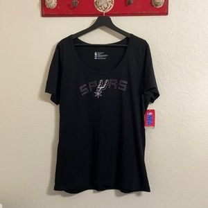 San Antonio Spurs Embellished T-shirt sz XXL NWT